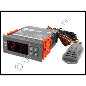 Digital Humidity Controller WH8040 Range 1%-99% RH