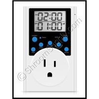 Digital Continuous Interval Timer (1800W)