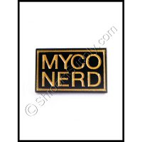 """Myco Nerd"" Enamel Mushoom Pin"