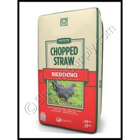 Fine Chopped Straw 2 Cubic Foot Bale