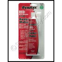 Red Hi-Temp RTV Silicone